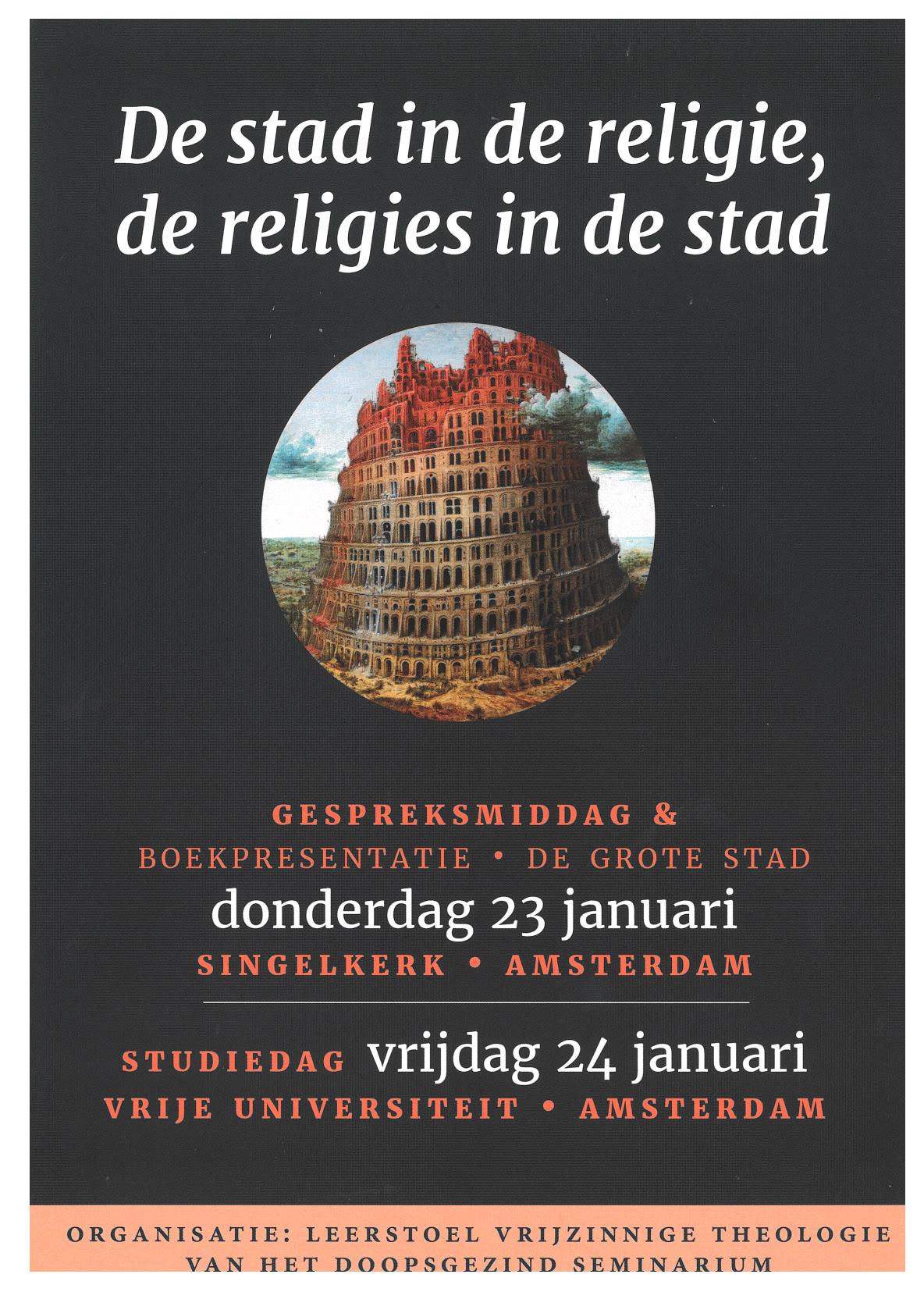 De stad in religies en religies in de stad